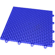 Shelby Blue Rugged Grip-Loc Tile - Remnants