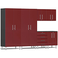 Ruby Red Metallic UG23060RUlti-MATE Garage 2.0 6-PC Kit
