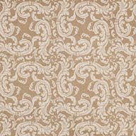 BeigeJoy Carpets Scrollwork Carpet