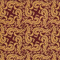 Burgundy Joy Carpets Scrollwork Carpet