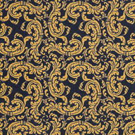 NavyJoy Carpets Scrollwork Carpet