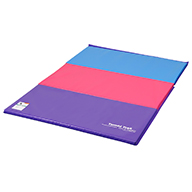 Bright PastelTumbling Mats by Tumbl Trak
