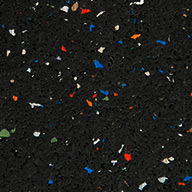 "Confetti3/8"" Sure Fit Rubber Tiles"