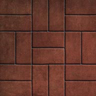Brick Red Stone Flex Tiles - Mosaic Collection