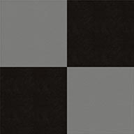 Black and Light GraySmooth Flex Tiles