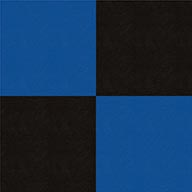Black and BlueSmooth Flex Tiles