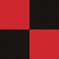 Black and RedSmooth Flex Tiles