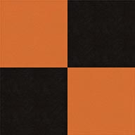 Black and OrangeSmooth Flex Tiles
