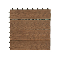 Coffee BrownCentury Outdoor Composite Deck Board Tiles