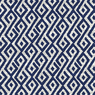 Blue/White Contours Outdoor Area Rug