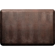 Dark BrownWellnessMats Croc Collection