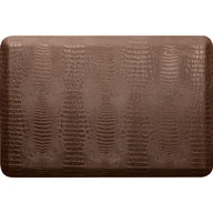 Light BrownWellnessMats Croc Collection