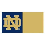 Notre Dame FANMATS NCAA Carpet Tiles