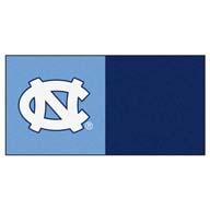 UNC FANMATS NCAA Carpet Tiles