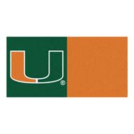 University of Miami FANMATS NCAA Carpet Tiles