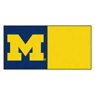 University of Michigan FANMATS NCAA Carpet Tiles
