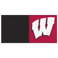 University of WisconsinFANMATS NCAA Carpet Tiles