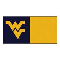 West Virginia University FANMATS NCAA Carpet Tiles