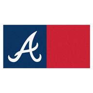 Atlanta Braves FANMATS MLB Carpet Tiles