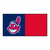 Cleveland Indians FANMATS MLB Carpet Tiles