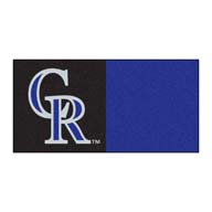 Colorado Rockies FANMATS MLB Carpet Tiles