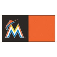 Florida Marlins FANMATS MLB Carpet Tiles
