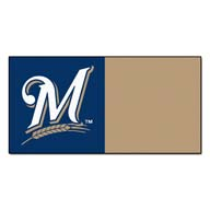 Milwaukee Brewers FANMATS MLB Carpet Tiles