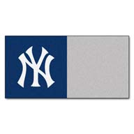 New York Yankees FANMATS MLB Carpet Tiles