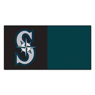 Seattle Mariners FANMATS MLB Carpet Tiles