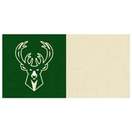 Milwaukee BucksFANMATS NBA Carpet Tiles