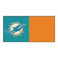 Miami DolphinsFANMATS NFL Carpet Tiles