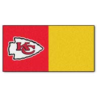 Kansas City ChiefsFANMATS NFL Carpet Tiles
