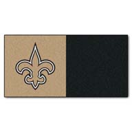 New Orleans SaintsFANMATS NFL Carpet Tiles