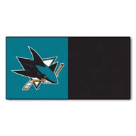 San Jose Sharks FANMATS NHL Carpet Tiles