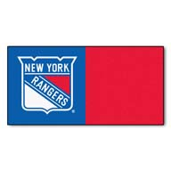 New York Rangers FANMATS NHL Carpet Tiles