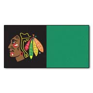 Chicago Blackhawks FANMATS NHL Carpet Tiles