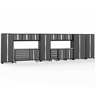 Gray / Steel 56188NewAge Bold Series 15-PC Cabinet Set