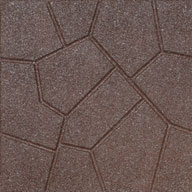 BrownFlagstone Rubber Pavers