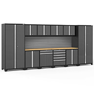 Gray / Bamboo 58509NewAge Pro Series 12-PC Cabinet Set