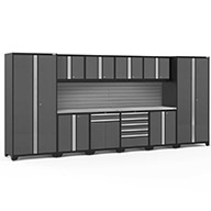 Gray / Steel 58511NewAge Pro Series 12-PC Cabinet Set