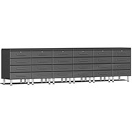 Graphite Gray MetallicUlti-MATE Garage 2.0 8-PC Workstation - Drawers