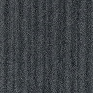 GunmetalRibbed Carpet Tile - Designer