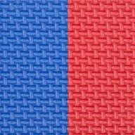 """Blue/Red 7/8"""" Jumbo Soft Tiles"""