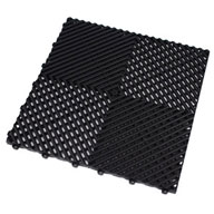 Jet BlackRibtrax Tiles