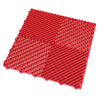 Racing RedRibtrax Tiles