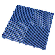 Island BlueRibtrax Tiles