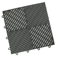 Graphite  Vented Grid-Loc Tiles™