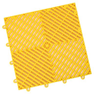 Rally Yellow Vented Grid-Loc Tiles™