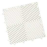 Arctic White Vented Grid-Loc Tiles™