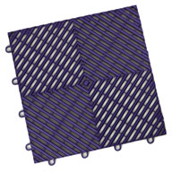 Imperial Purple Vented Grid-Loc Tiles™
